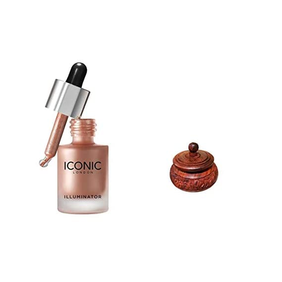 Iconic London Illumainator Highlighter For Body, Face Makeup To Glow