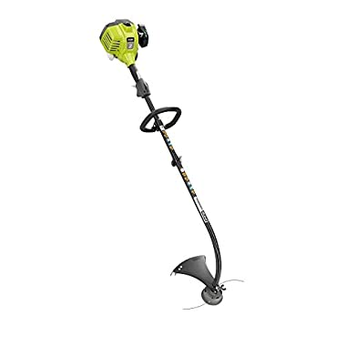 Ryobi RY34427 25.4 cc 2-Cycle Full Crank Curved Shaft Gas String Trimmer