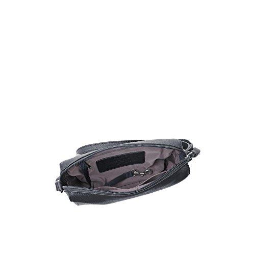 Bree Umhängetasche CARY 9 Shoulderbag Leder 14 x 19 x 5 cm Navy u43hYFFE