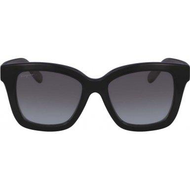 Salvatore Ferragamo Women's SF858S Black Sunglasses by Salvatore Ferragamo