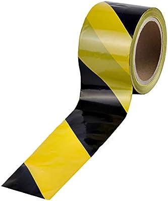 Fabulous 100 m Absperrband Kennband schwarz-gelb Warnband   i8: Amazon.de AA35
