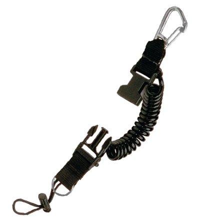Amazon.com: Snappy Coil - Cordón con mosquetón de acero ...