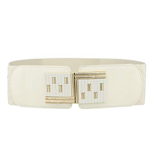 Women's Wide Elastic Stretch Waist Cinch Belt Plus Size For Ladies Girls Valentine's Day