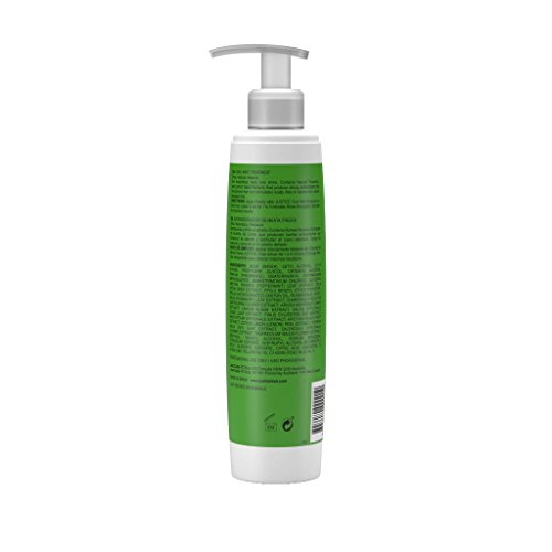 Cool Mint Conditioner Rejuvenate & Moisturize Naturally | Deep Conditioning Treatment Repairs Damaged Hair | Sooth Scalp, Stimulate Growth, Add Shine, Body, Volume/JUSTICE Professional 250ml 8.5oz by Justice Professional Haircare (Image #1)