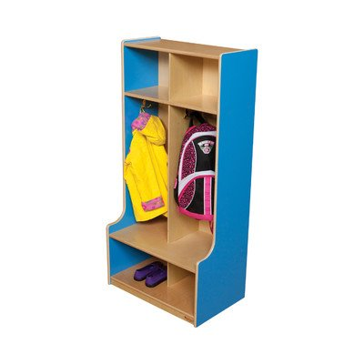 Wood Designs Two Section Offset Locker 52400 Color: Green Apple
