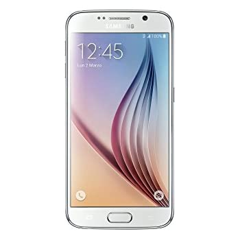 Samsung Galaxy S6 G920F Unlocked Cell Phone - International Sourced Version - White Pearl