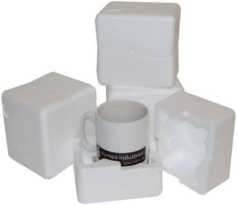 50 se envía en una caja de poliestireno expandido resistentes al ...