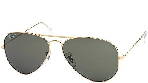 - Ray-Ban RB3025 Polarized Original Aviator Sunglasses
