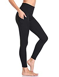 f3f52e2583 MissTalk Yoga Pants for Women Workout High Waisted Leggings Running Tights  Joggers Hidden Pocket