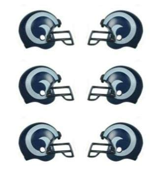 NFL 6 Pack Los Angeles Rams 2017 Helmet Mini Football 2