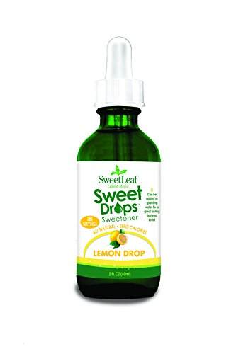 SweetLeaf Liquid Stevia, Lemon Drop 2 fl oz (60 ml)