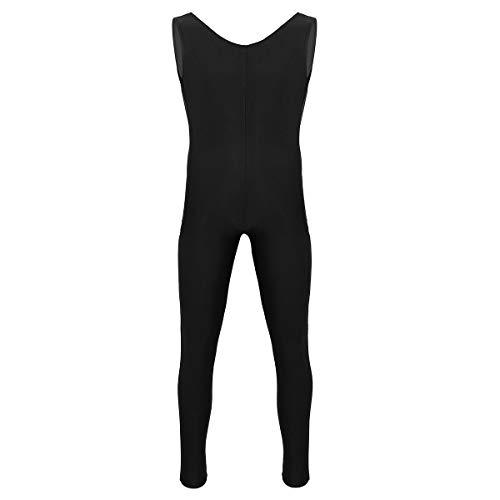 Men Ballet Costumes - YiZYiF Men's Lycra Ballet Sleeveless Full