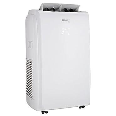 Danby DPA100E1 10,000 BTU Portable Air Conditioners Black/White