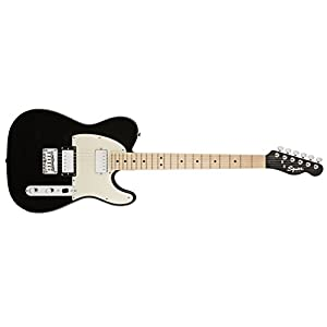 Fender Squier Contemporary Telecaster w/ Maple Neck – HH (Black Metallic)