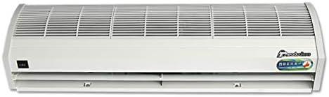 超薄型屋内エアカーテン、ホワイトアロイ防錆ケースコマーシャル/家庭用屋内、強力、静か、小型、軽量