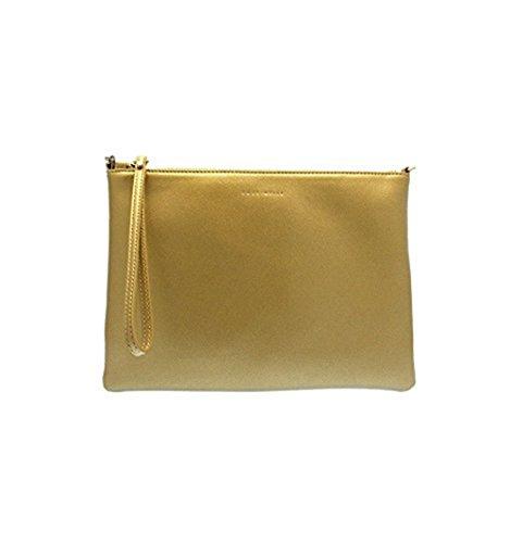 Coccinelle - Bolso cruzados de Piel para mujer dorado dorado