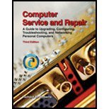 Read Online Computer Service & Repair - Guide to Upgrading, Configuring, Troubleshooting, & Networking Personal Computers (3rd, 08) by [Hardcover (2008)] PDF