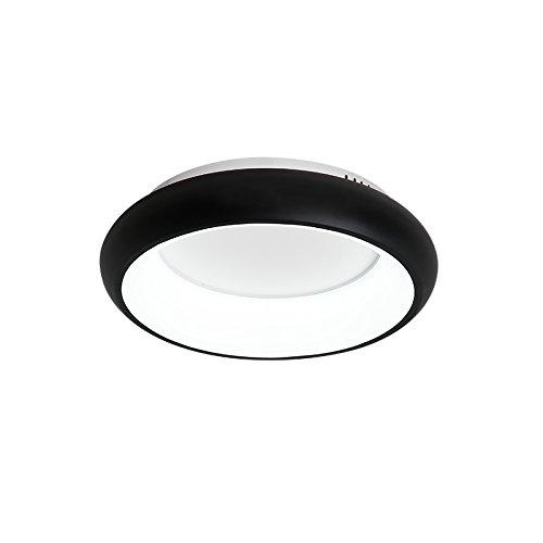 Renshengyizhan@ White/Black/Green/Grey Living Room Bedroom Modern Led Ceiling Lights avize AC85-265V lamparas de techo Ceiling Lamp Fixtures,White Color Dia 650mm