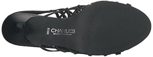 Charles Av Charles David Womens Nadya Kjole Sandal Sort