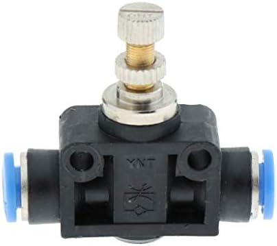 空気圧クイック継手 ワンタッチ空気圧継手 バルブ クイックコネクタ T型 全5サイズ - 内径約6mm