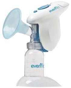 Evenflo Company SimplyGo Single Breast Pump, 5 oz Bottle