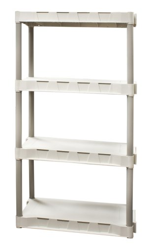 Plano Molding 9314-02 4-Shelf Interlocking Utility Shelving - bedroomdesign.us