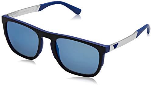 Sunglasses Emporio Armani EA 4114 567355 MATTE ELECTRIC BLUE