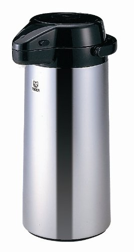Tiger PXQ-2501 Air Pump Jug/Dispenser with Mirror Finish, 84.5-Ounce by Tiger Corporation