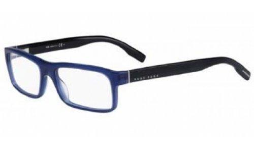 4dbb6e6894fc4 HUGO BOSS Eyeglasses 0523 0ALU Blue 54MM - Buy Online in UAE ...