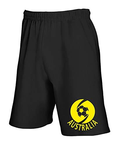 Wc0031 Tuta T Nero shirtshock Australia Pantaloncini 0ZO01Ixqw
