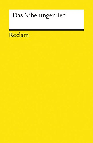 Das Nibelungenlied (German Edition)