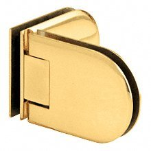 CRL Berlin 090 Series Gold Plated 090° Glass-to-Glass Hinge by C.R. Laurence