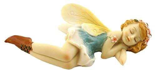 Top Collection Miniature Garden and Terrarium Sleeping Flower Fairy Figurine
