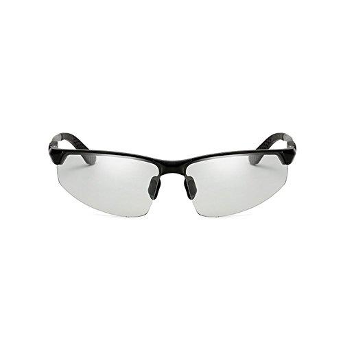 Uso YQ De Ojos Color 1 Acogedor Y De Polarizados Sol Decoloración Noche Gafas Doble Gafas 1 Día QY zwIzP