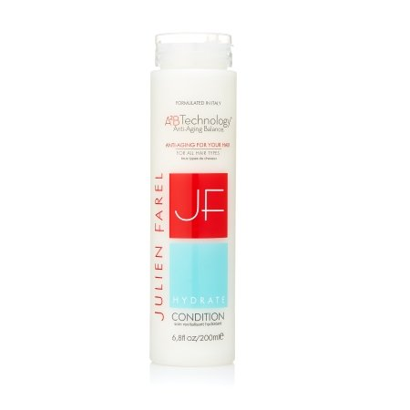 Julien Farel Hydrate Conditioner, 6.8 Fl Oz – SLS & Paraben Free, Color Treated, Scalp Treatment – Best for Normal, Fine, Thinning, Damaged and All Hair Types – Add Body, Fullness, Shine