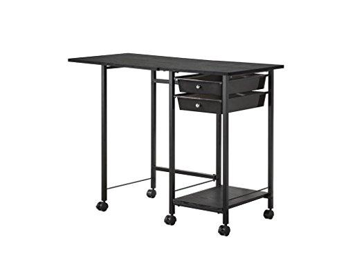Coaster Home Furnishings Desk Set, Black