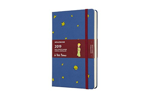 - Moleskine Limited Edition Petit Prince 12 Month 2019 Daily Planner, Hard Cover, Large (5