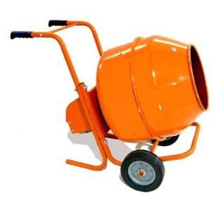 5 CuFt Wheelbarrow Style Electric Cement Mixer by May very