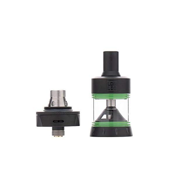 LDN LIQ – CBD SLT Tank – 2ml E-Liquid Tank Capacity – 510 Tank Compatible – Bottom Airflow – Ideal for Nic Salts and E-Liquid Oils – Does Not Contain Nicotine/CBD Oils