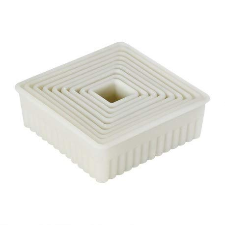 Paderno World Cuisine A166103 Pastry Cutter, Medium, Off- Off-White by Paderno World Cuisine (Image #1)