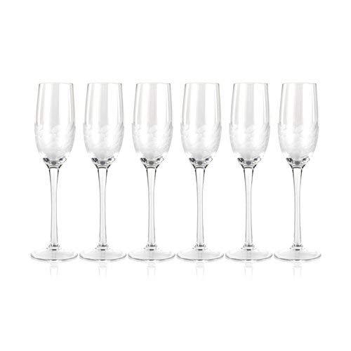 OKSLO Mote flute glass 7 oz. champagne glass (set of 6) Model d2014