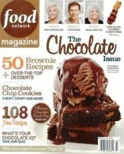 Food Network Magazine March 2012: The Chocolate Issue
