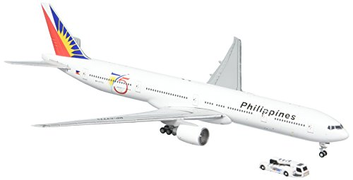 Gemini Jets Philippines B777-300ER '75th Anniversary' Airplane Model (1:400 Scale) (Philippine Airlines)