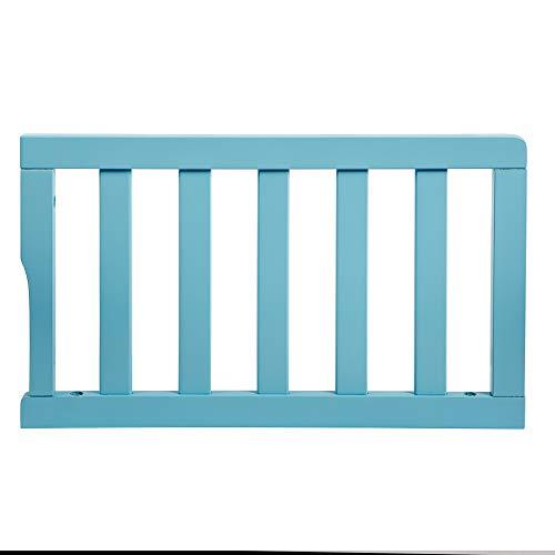 Dream On Me Universal Convertible Crib Toddler Guard Rail, Aqua