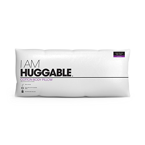 Hollander Sleep Products I AM Huggable Cotton Body Pillow, White