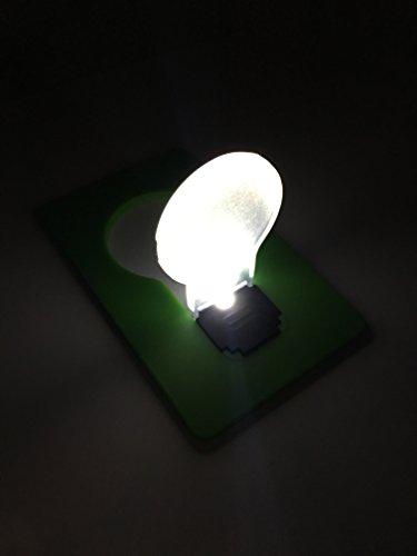 Funny Led Pocket Card Wallet Light - 2