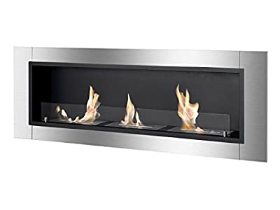 Ignis Ventless Bio Ethanol Fireplace Ardella with Safety Glass
