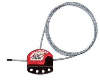 Adjustable Cable Lockout W/6ft able