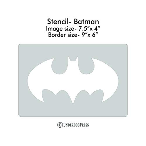 XL Stencil - Batman Symbol -