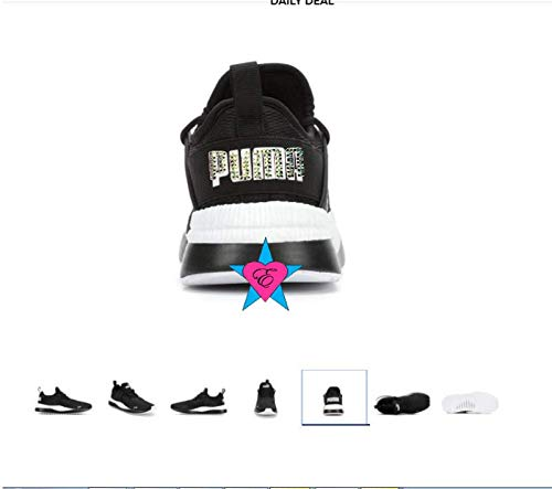 Crystal Sparkle Glitter puma bling shoes